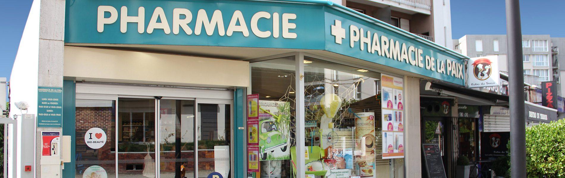 Pharmacie DE LA PAIX - Image Homepage 1
